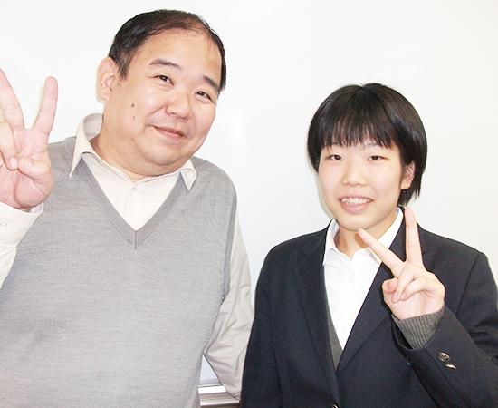 川和合格 中島希さん