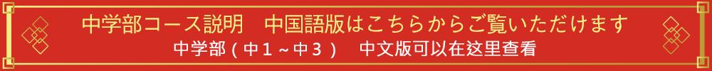 中学部 中国語版